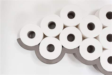 clever toilet paper holders clever concrete cloud toilet paper holder design milk