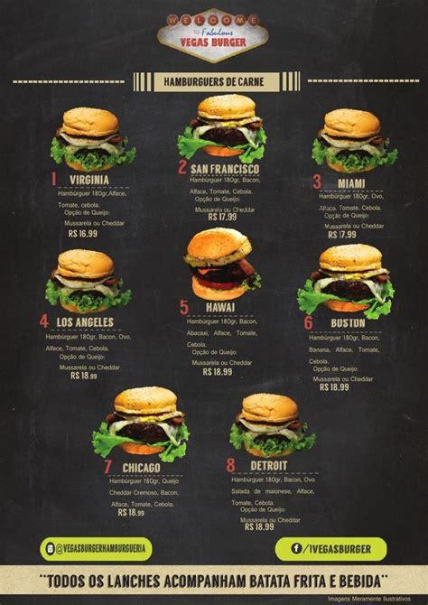 design menu burger card 225 pio vegas burger burgers