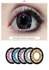 best colored contacts for best colored contacts for brown