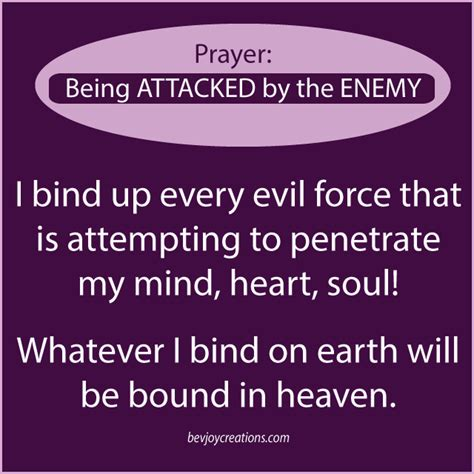 Dspeak Able Me prayer being attacked by the enemy