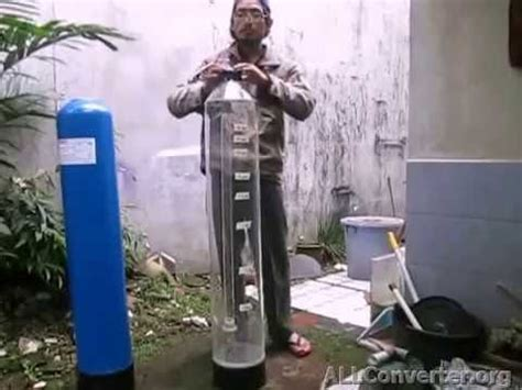cara membuat filter air tabung cara kerja backwash multiport valve tabung filter air