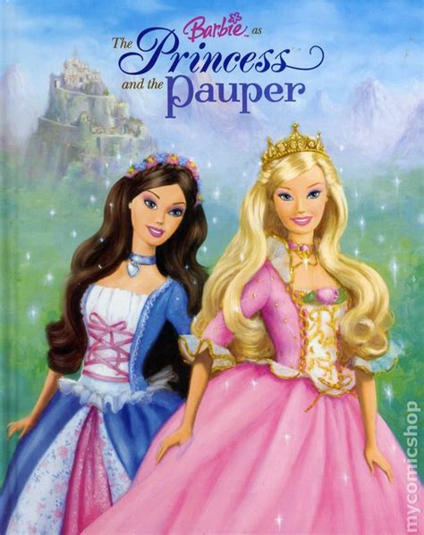 Comic Books In Illustrated Book As The Princess And The Pauper