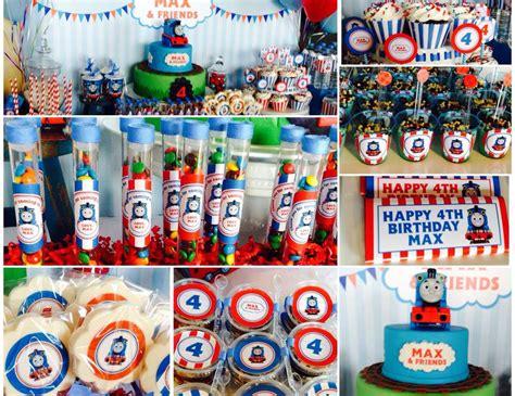 printable thomas the train party decorations thomas the train birthday quot max friends 4th birthday