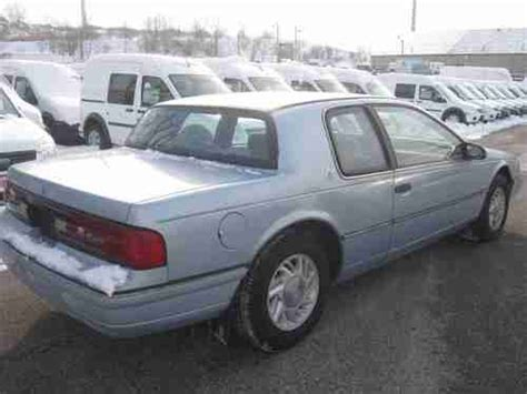 how to sell used cars 1991 mercury cougar electronic valve timing sell used 1991 mercury cougar ls sedan 2 door 3 8l in cleveland ohio united states for us