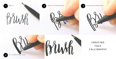 lettering tutorial for beginners hand lettering tutorials you should try the it girl