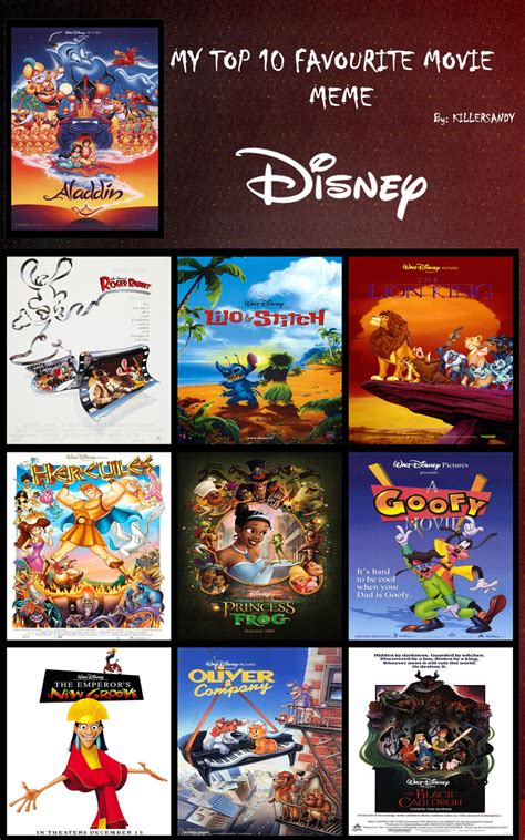 film disney non animated my top 10 disney animated films by tooneguy on deviantart