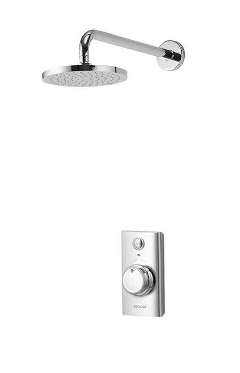 Concealed Electric Shower Aqualisa Visage Digital Concealed Shower With Wall Fixed