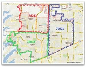 frisco tx zip code map pictures to pin on
