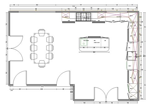 layout design of kitchen kitchen layout planner luck interior