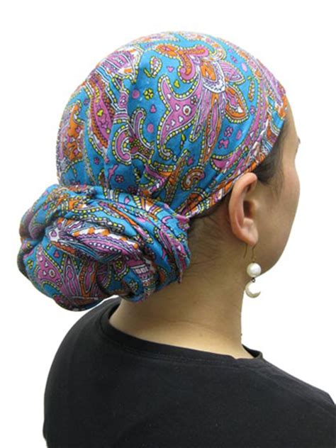 simple hair bandana for covering patch of bald head for ladies beautiful woman bald from chemotherapy prepares to remove