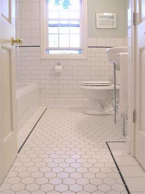 bathroom tile ideas white 36 nice ideas and pictures of vintage bathroom tile design