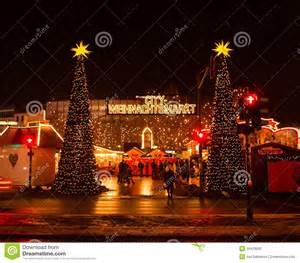 Christmas festival market in berlin stock photography image