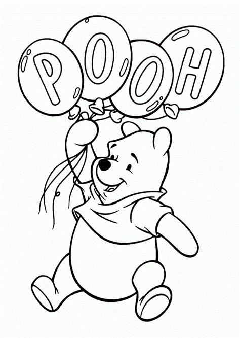 imagenes de winnie pooh sin pintar dibujos para pintar winnie the pooh dibujos para colorear