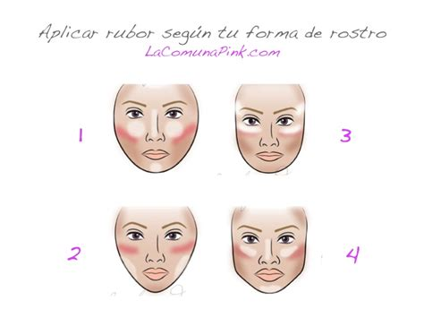como aplicar el rubor c 243 mo aplicar rubor de acuerdo a tu forma de rostro la