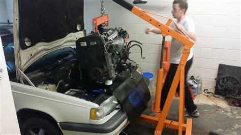 volvo 850 1995 engine and transmission install