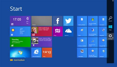 Windows 7 Bar At Top Of Screen by Winmetro Giao Diện Windows 8 Start Screen Charms Bar Cho Windows 7 An Giang Soft