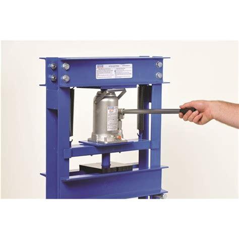 casey hton bench press shop press 20 tonne shop presses 4 kincrome
