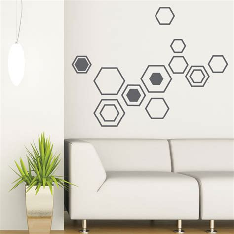 Modern Home Decor Accessories by Wall Decal Geometry