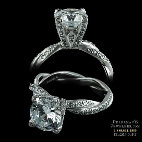 michael b infinity ring michael b jewelry infinity engagement ring