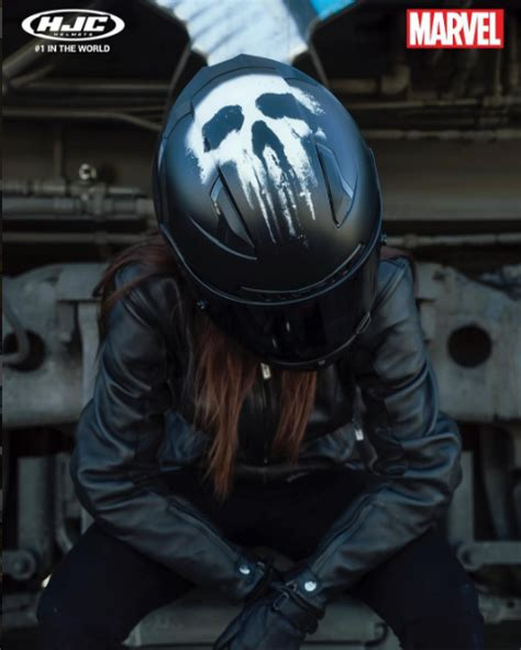 awesome motocross helmets hjc and marvel team up to 3 awesome helmets