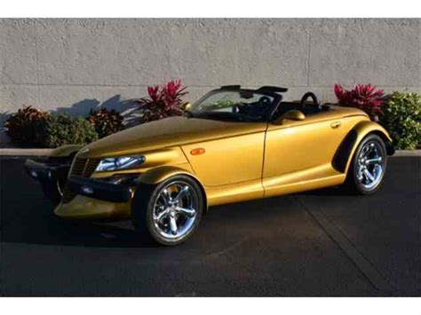 automobile air conditioning service 2002 chrysler prowler interior lighting classic chrysler for sale on classiccars com 335 available page 2