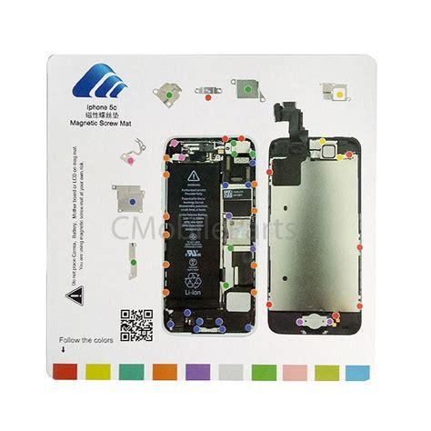 iphone 5 screws diagram iphone 5c magnetic chart mat repair guide pad tool