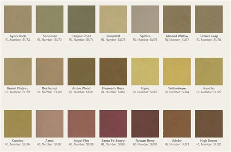 ralph suede paint colors