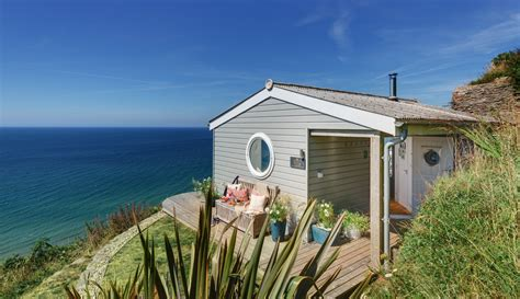 Sea View Friendly Cottages by Whitsand Bay The Edge Cabin With Sea Views In Cornwall