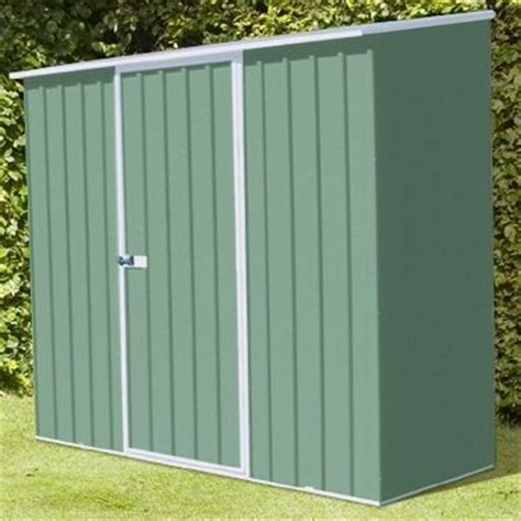 8 x 3 space saver pale eucalyptus metal shed 2 26m x 0