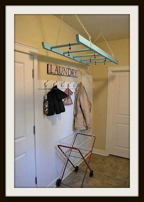 laundry room hanging rack laundry room hanging rack decorating the nest