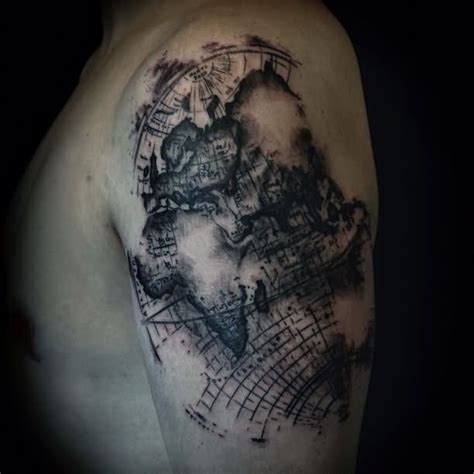 map tattoo images amp designs