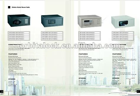 safe room dimensions orbita hotel electronic safe box with ceu handset for audit trail function china mainland locks