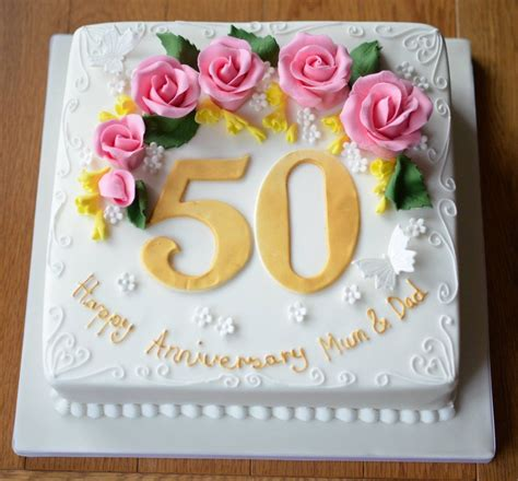 Wedding Anniversary Ideas Coast by 50th Anniversary Cake Cakecentralcom Creative Ideas