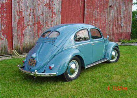 blue volkswagen beetle for sale 1952 vw beetle deluxe buy classic volks