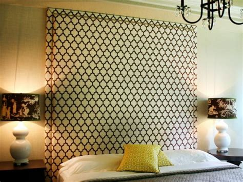 upholstered headboard with nail trim hgtv