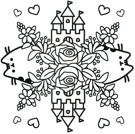 pusheen coloring pages pdf free coloring pages at 1027 best images about coloring pages on pinterest