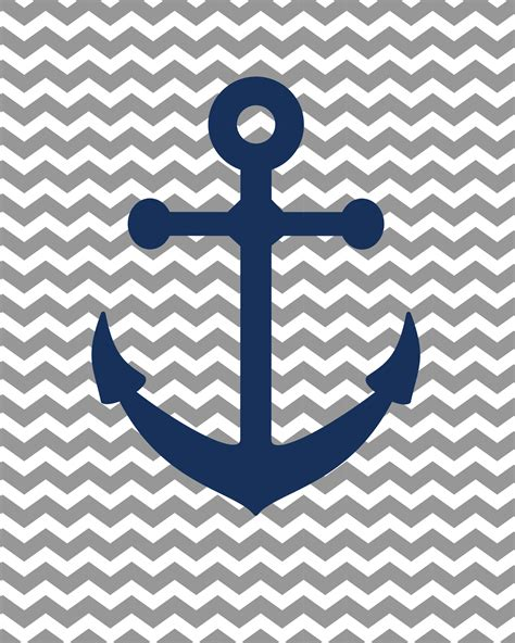 Anchor Navy by Navy Anchor Wallpaper Www Pixshark Images