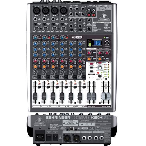 Mixer Behringer 12 Channel Bekas behringer audio mixer xenyx x1204usb price in pakistan