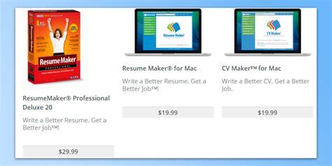 individual software resume maker 5 best resume builders reviews of 2018 bestadvisor