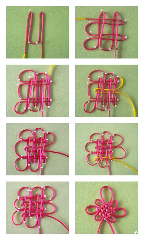 Craft Knots - diy flower knot pictures photos and images for