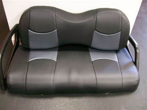 ez go golf cart rear seat installation ez go txt golf cart rear flip seat custom seat cover