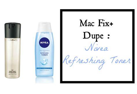 Mac Spray mac fix dupe nivea refreshing toner rachael o