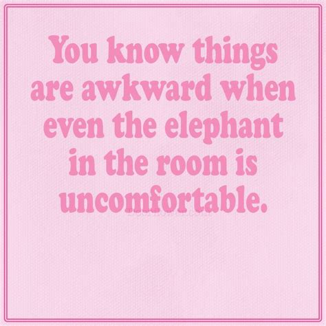 comedian elephant in the room you things are awkward when even the elephant in the room is uncomfortable comedy dating