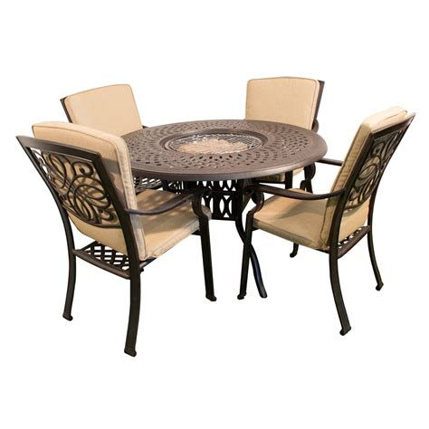 restaurant armchairs kensington firepit grill round 120cm fire and ice table