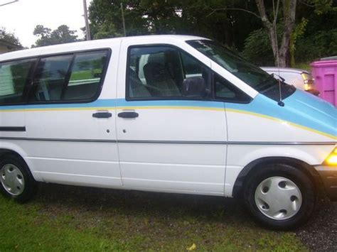 find used 1996 ford aerostar work van 105000 miles cheap used in loris south carolina united
