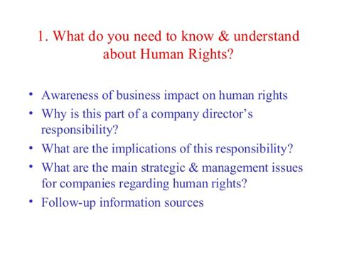 Why You Want To Do Mba In Hr by Business And Human Rights Mba Executive Module