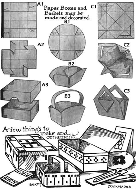 How To Make A Paper Easter Basket - easter basket crafts for arts and crafts