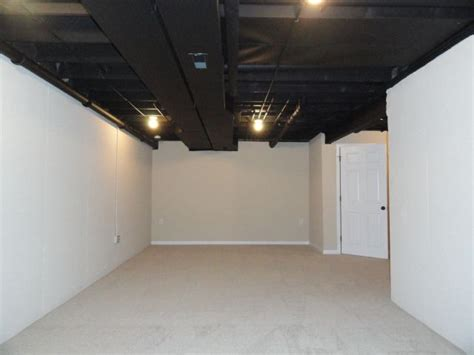 painting basement ceiling black 11 best images about unfinished basement ceilings on exposed ceilings unfinished