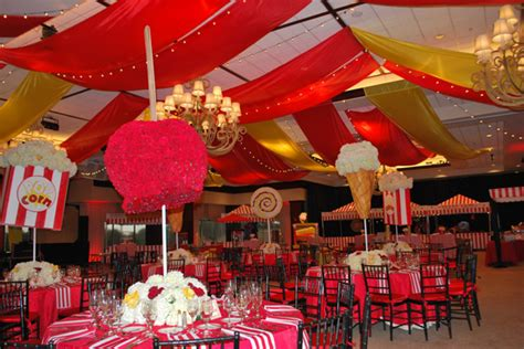 themes of carnival floral decor 171 linzi events