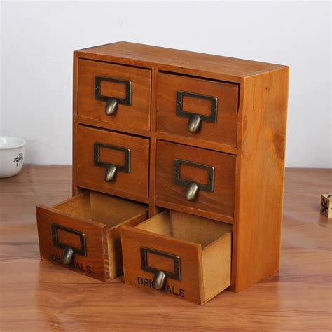 Small Wooden Desk With Drawers Get Cheap Small Storage Cabinet Aliexpress Alibaba